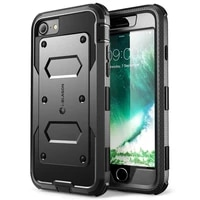 i blason for iphone 7 8 se 2020 case armorbox full body heavy duty shock reduction bumper cover with built in screen protector