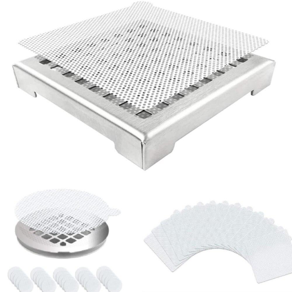 Одноразовые Дренажные Сетки для душа, наклейки на кухню, ванную комнату, пол душа, дренаж, антиблокирующая крышка, 12 шт.
