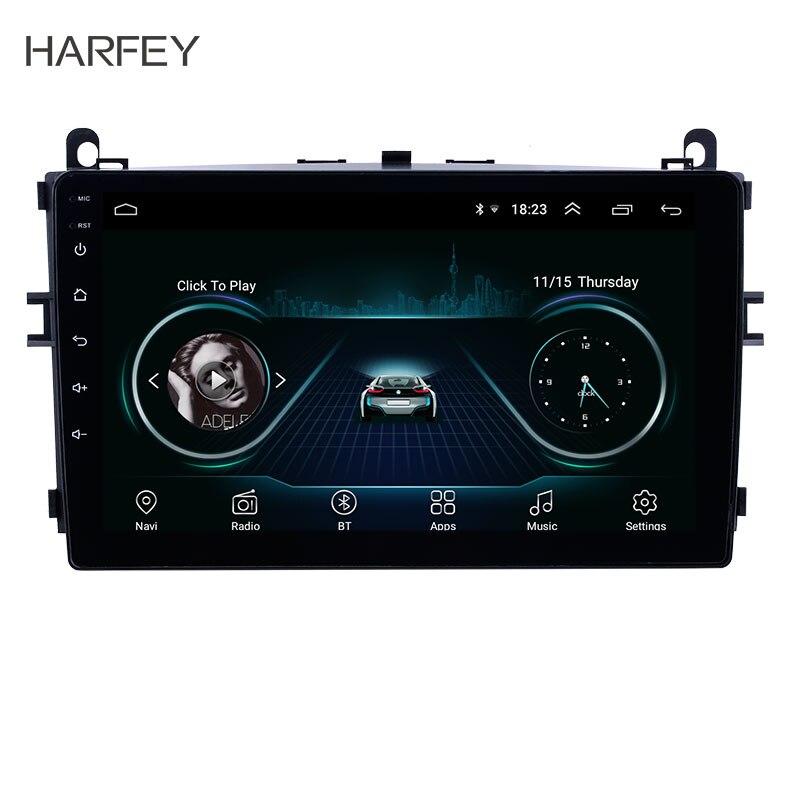 Harsey Android 9,1 9 pulgadas HD pantalla táctil coche GPS Radio para 2016 2017 Baic E Series E130 E150/EV soporte Carplay cámara de respaldo