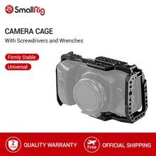 Petite Cage de caméra BMPCC 4K 6K pour Blackmagic Design caméra de cinéma de poche forme Cage de montage + Rail otan pourrait montage de chaussures-2203