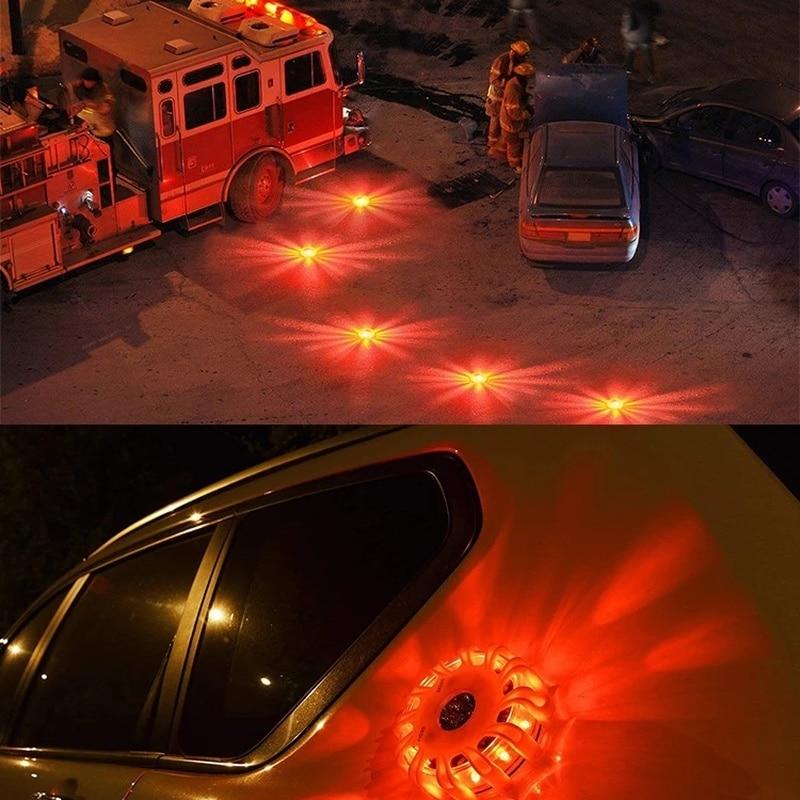 Baliza Luz De Emergencia Coche ayuda Flash Luz del Coche De Emergencia...