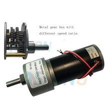 Aslong-boîte à engrenages DIA de 37mm   Avec motor12v 3157 dc, moteur de réducteur en métal 24v cc de 1280 tr/min à 9 tr/min, fournisseur dusine