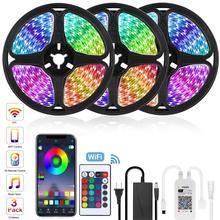 캐비닛 옷장 조명 아래 LED 빛 부엌 옷장 램프 홈 장식에 대 한 옷장에 10M 5M RGB 백라이트
