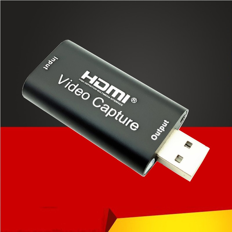 Video Card HDMI Video Capture Card VHS USB 2.0 Grabber Recorder 4K 1080P for PS4 Game DVD Camcorder HD Camera Live Streaming NEW audio video capture card 4k hdmi to usb 3 0 capture card 1080p 60fps live streaming game recorder device for ps4