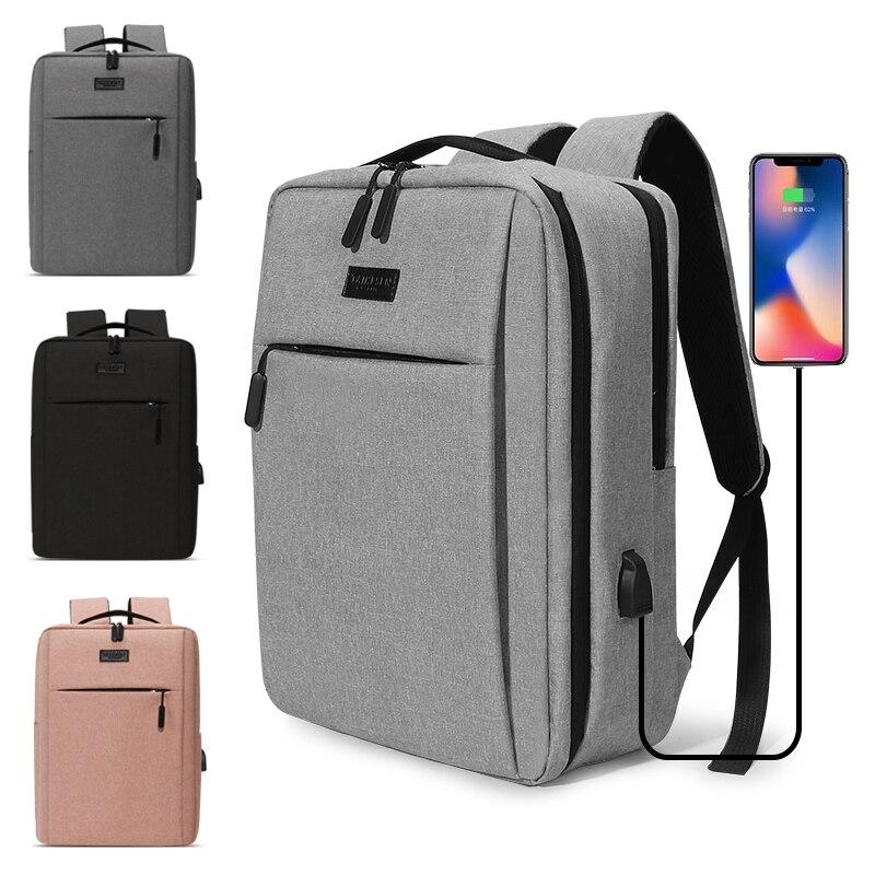 2020 جديد محمول Usb حقيبة ظهر مدرسية حقيبة الظهر مكافحة سرقة الرجال حقيبة الظهر السفر daypack الذكور حقائب لأوقات الترفيه Mochila النساء Gril