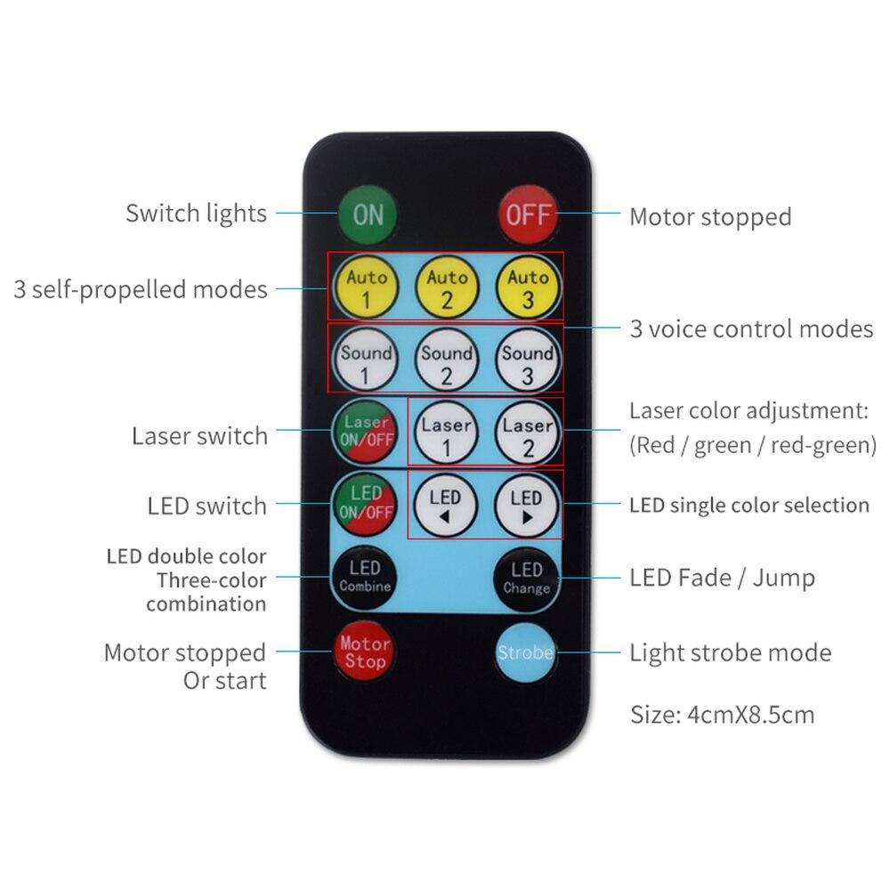 Новинка 52 режима LED Дискотека Вечеринка Свет Лазер Проектор Лампа для Крытый Клуб Сцена Эффект Освещение Шоу Музыка KTV Дом DJ Оборудование