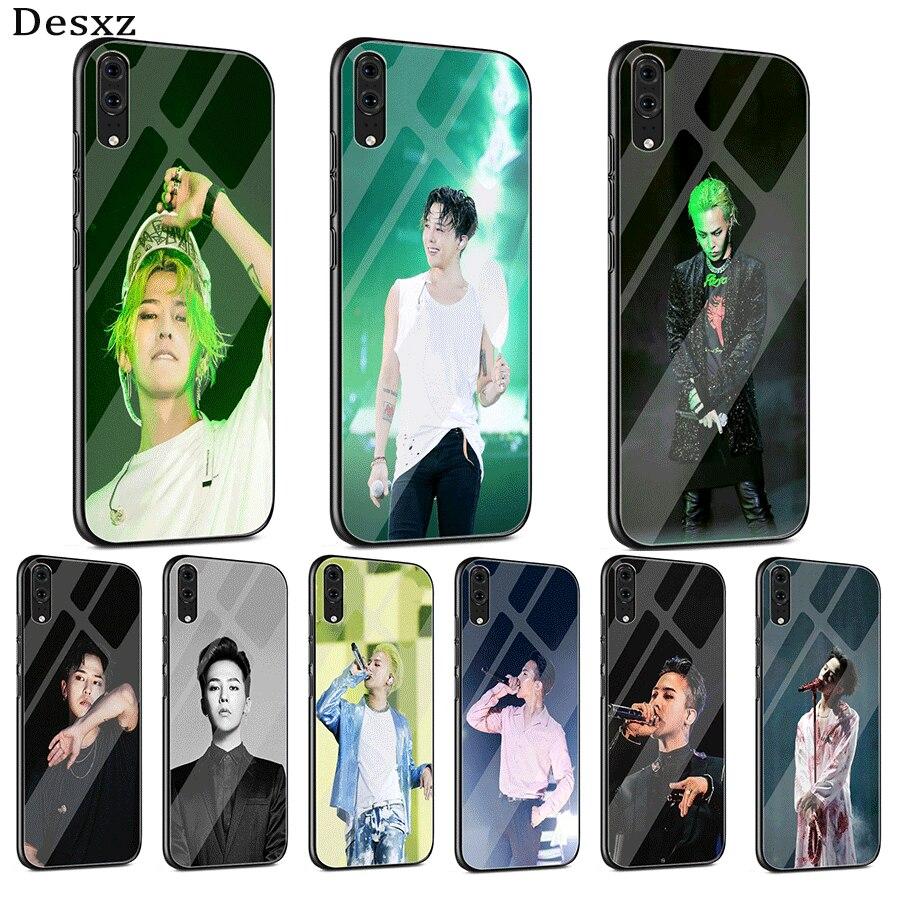 Стеклянный чехол для телефона Xiaomi MI 8 9 Lite A1 A2 Redmi Note 5 6 7 Pro 6A 4X 5X 6X Pocophone F1, чехол для телефона BigBang G-Dragon Smart