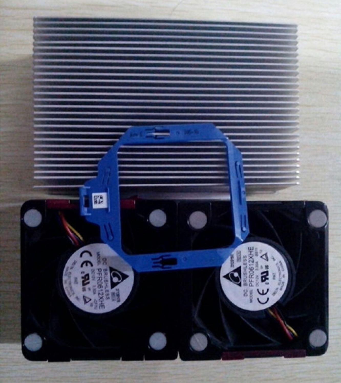 Disipador de calor 723353-001 654592-001, 662522-001, 662520-001, ventiladores x2 para Kit DL380P Gen8 G8