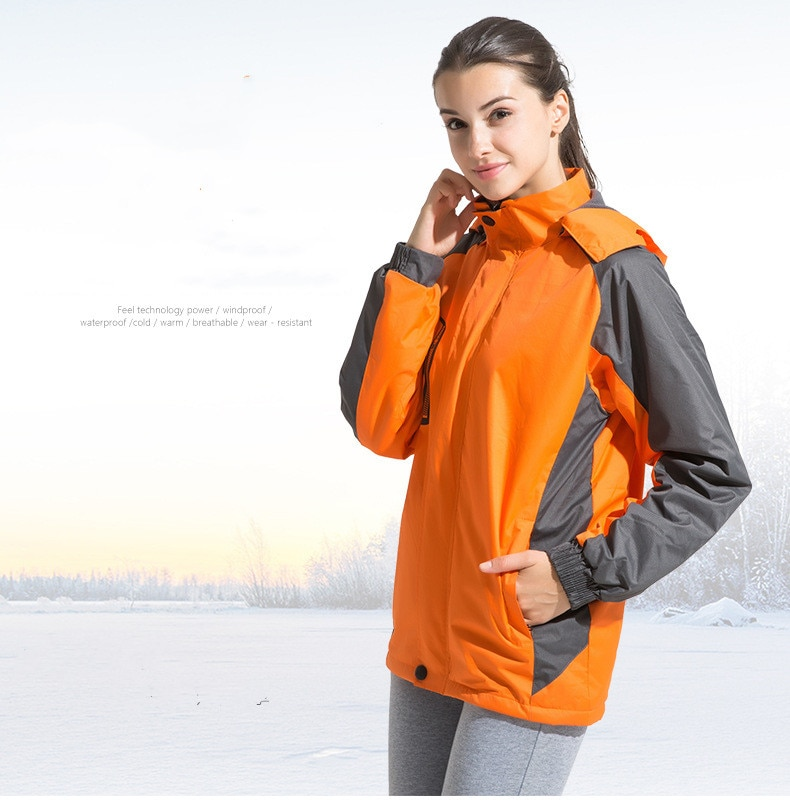 Chaquetas impermeables suaves para mujer Chaquetas deportivas al aire libre otoño invierno abrigo para senderismo camping caza lluvia ciclismo ropa de lana