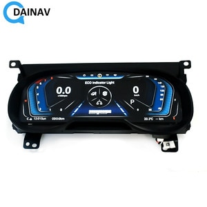 Android system Car LCD Meter instrument dashboard screen GPS Navigation For Toyota RAV4 2020 Multimedia player