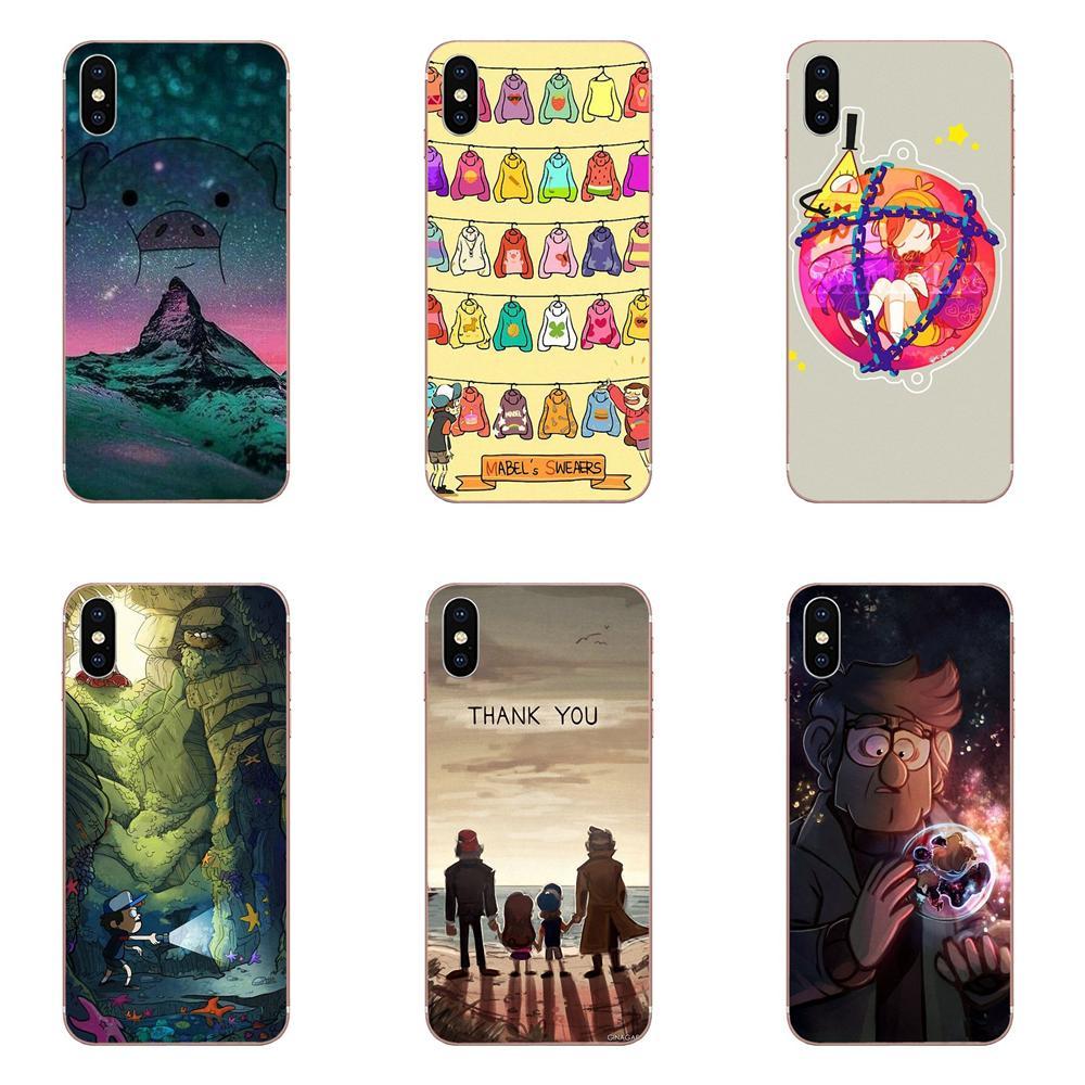 For Apple iPhone 4 4S 5 5C 5S SE SE2020 6 6S 7 8 11 Plus Pro X XS Max XR Soft TPU Live Love Phone Gravity Fall