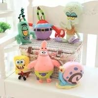 20cm ocean anime plush toy cartoon crab baby doll soft filling undeformable baby birthday gift starfish home decoration pendant