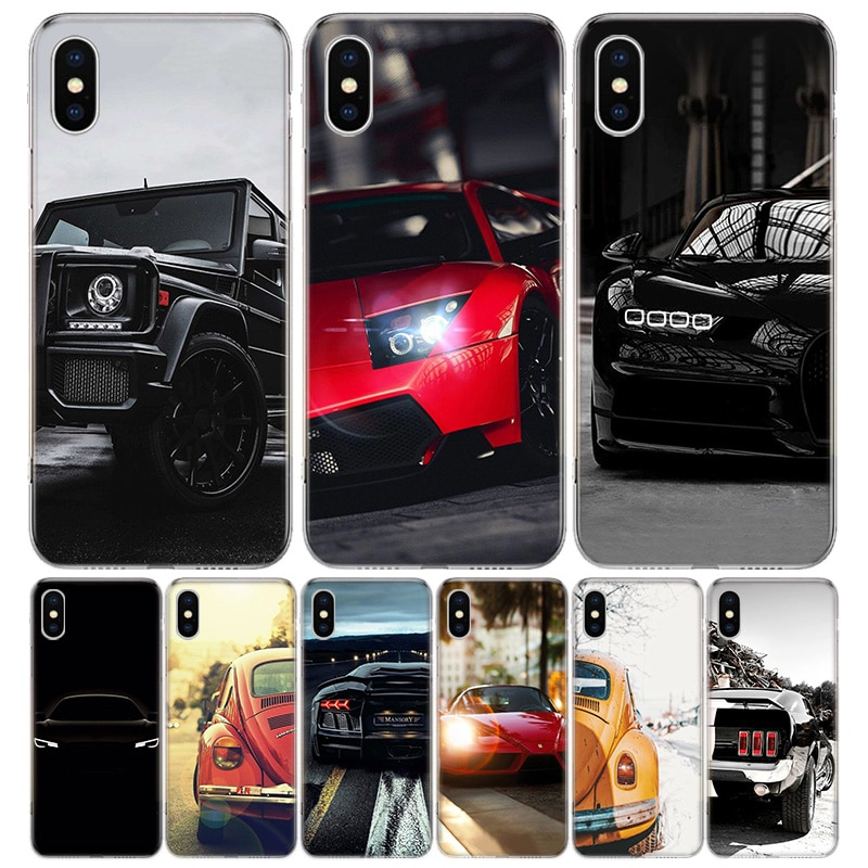 Funda de teléfono para iPhone 11 Pro 7 6X8 6S Plus XS MAX + XR 5S SE 10 Ten Art TPU funda Capa