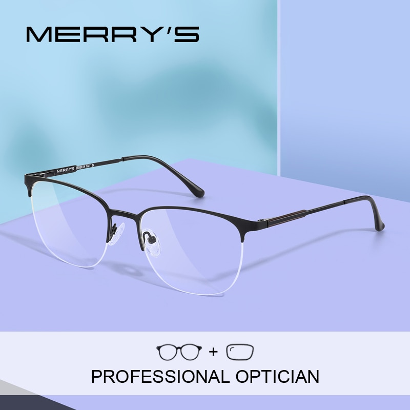 MERRYS DESIGN Women Prescription Glasses Retro Myopia Eyeglasses Unisex Fashion Frames Half Frames O