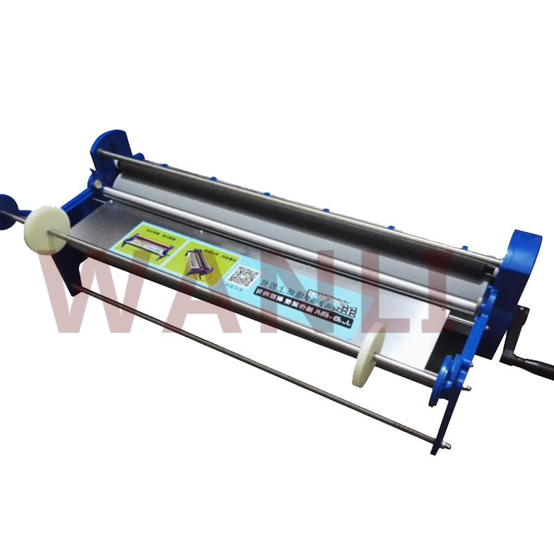 JJ70-68A المنزلية اليد تعمل ورق الجدران آلة لصق 70 سنتيمتر خلفية تحجيم آلة التحجيم آلة الإلتصاق أداة