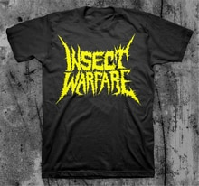 Insekt Warfare 'Yellow Logo' T Hemd Nasum Phobia Napalm Sob Neue Cool Tee Shirt