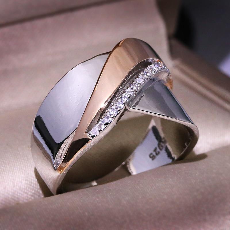 Преувеличенные большие серьги 925 пробы серебряные ретро большие кольца для Для женщин в стиле панк роскошный крест-накрест заявление кольц...
