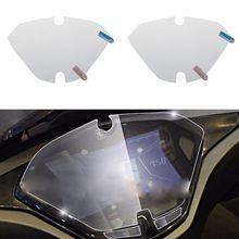 Protecteur de Film de Protection décran pour Yamaha NVX 155   Lot de 2 bandes de rayures, bouclier pour tableau de bord Instrument Aerox 155
