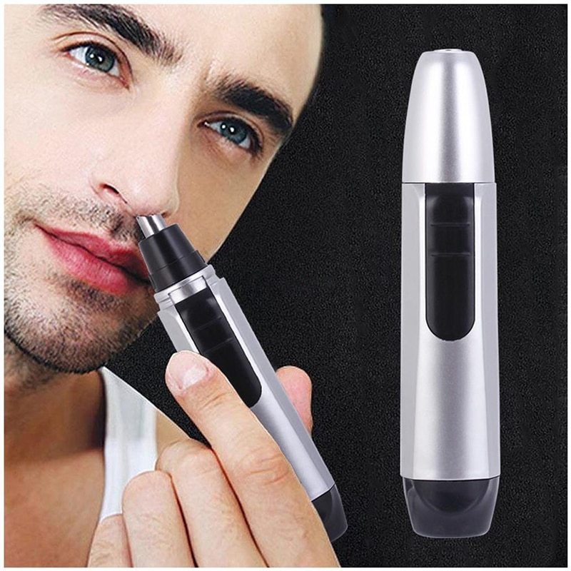 1PC Electric Ear Neck Nose Hair Trimmer Eyebrow Trimmer Implement Shaver Clipper Man Woman Clean Trimer Razor Remover