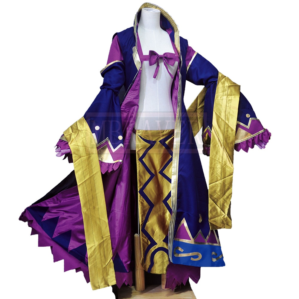 Disfraz de Cosplay de destino/Gran Orden Assassin FGO Wu Zetian Wu Ze Tian hecho a medida en cualquier tamaño