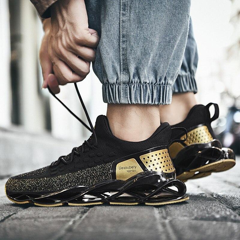 Zapatillas deportivas transpirables de gran tamaño para hombre, calzado deportivo profesional para entrenamiento atlético al aire libre 39-47