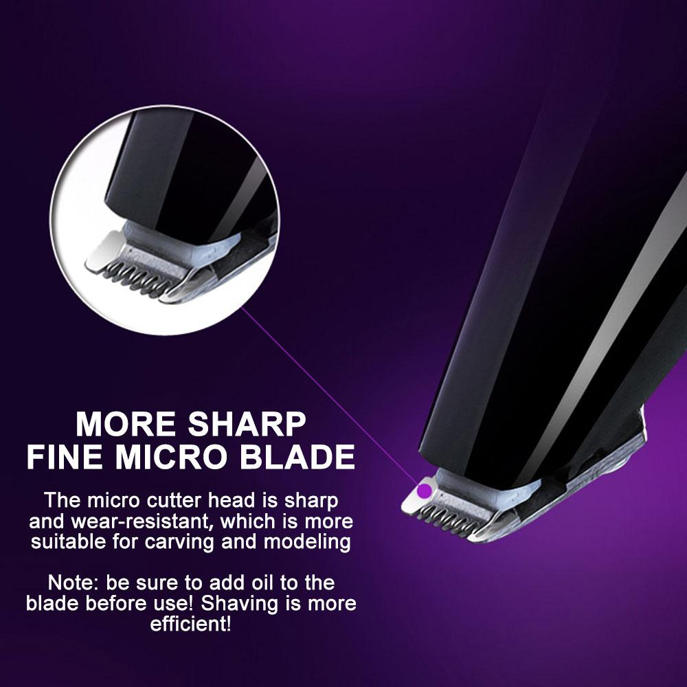 Professional men hair trimmer beard electric hair clipper USB Rechargeable Hair Shaver  barber hair cutting machine enlarge