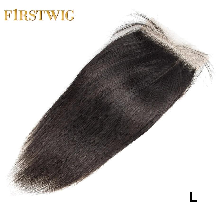Hd 5x5 transparente suíço rendas encerramento brasileiro em linha reta natural curto frontal remy extensão do cabelo para preto