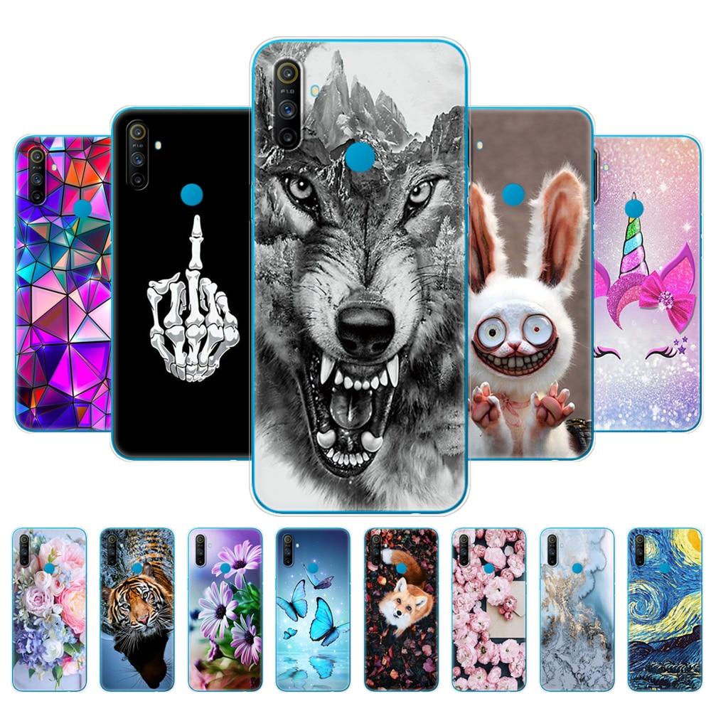 For Realme C3 Case Soft Silicon TPU Back For OPPO Realme C3 Realme c3 Protective Phone Cover Coque C