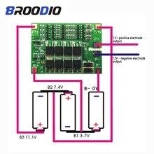 3S 40A BMS 11.1V 12.6V 18650 lithium batterie protection conseil avec Version équilibrée pour perceuse moteur 40A courant