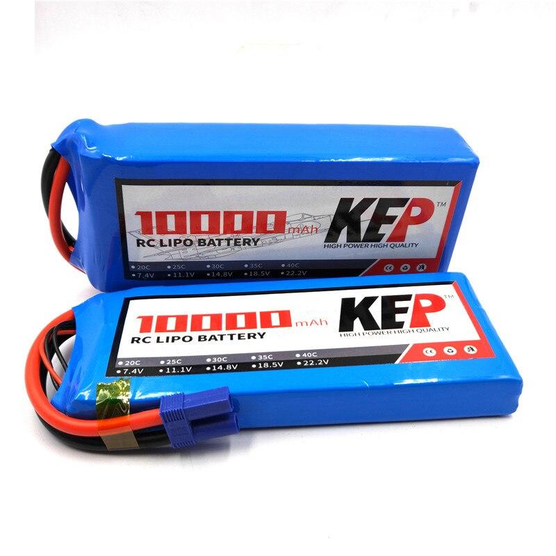 1 piezas 2 piezas, 4 piezas, 6 piezas, 8 piezas 10 piezas RC lipo batería de 22,2 V 10000mAh 25C baterías recargables de polímero de litio para enchufe plano XT60 T