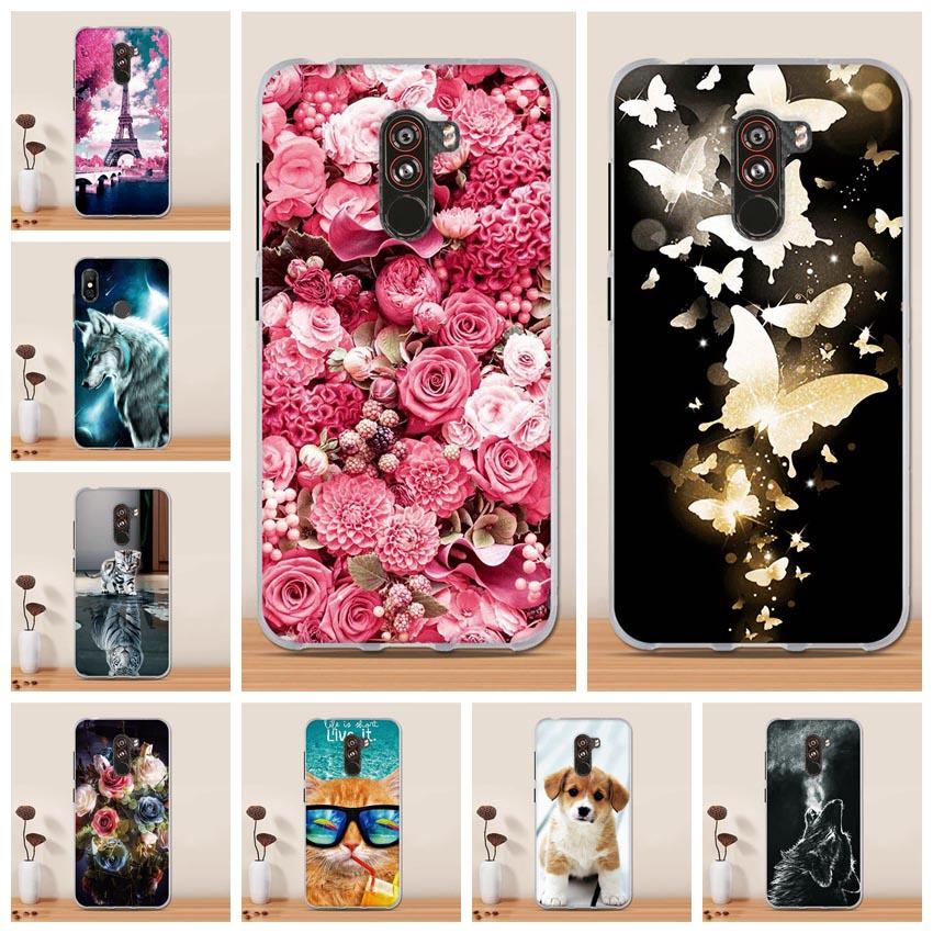 For Pocophone F1 Back Cover Phone Case for Pocophone F1 Xiaomi Case Silicone Soft TPU Case For Xiaomi Pocophone F1 Funda Capa