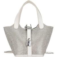 2021 popular bright diamond bag new fashion womens summer messenger bag net red versatile portable bucket bag bolsa feminina