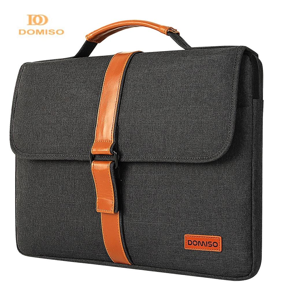 Domiso حقيبة لاب توب مع حزام اليد ل 13