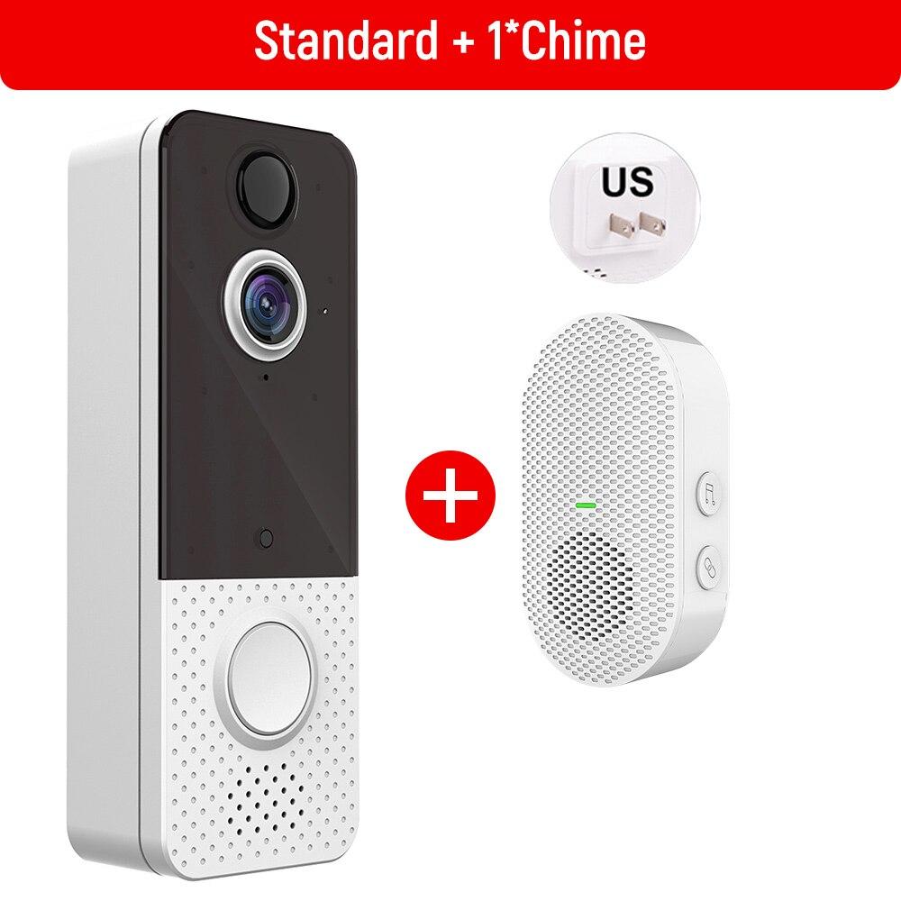 EKEN Smart Video Doorbell Camera 1080P WIFI Weatherproof  IP67 Visual Intercom Night Vision IP Door Bell PIR Wireless Camera enlarge