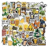 1050pcs funny drink beer stickers pack spoof expression weed 420 graffiti decal sticker for diy laptop motorcycle helmet guitar