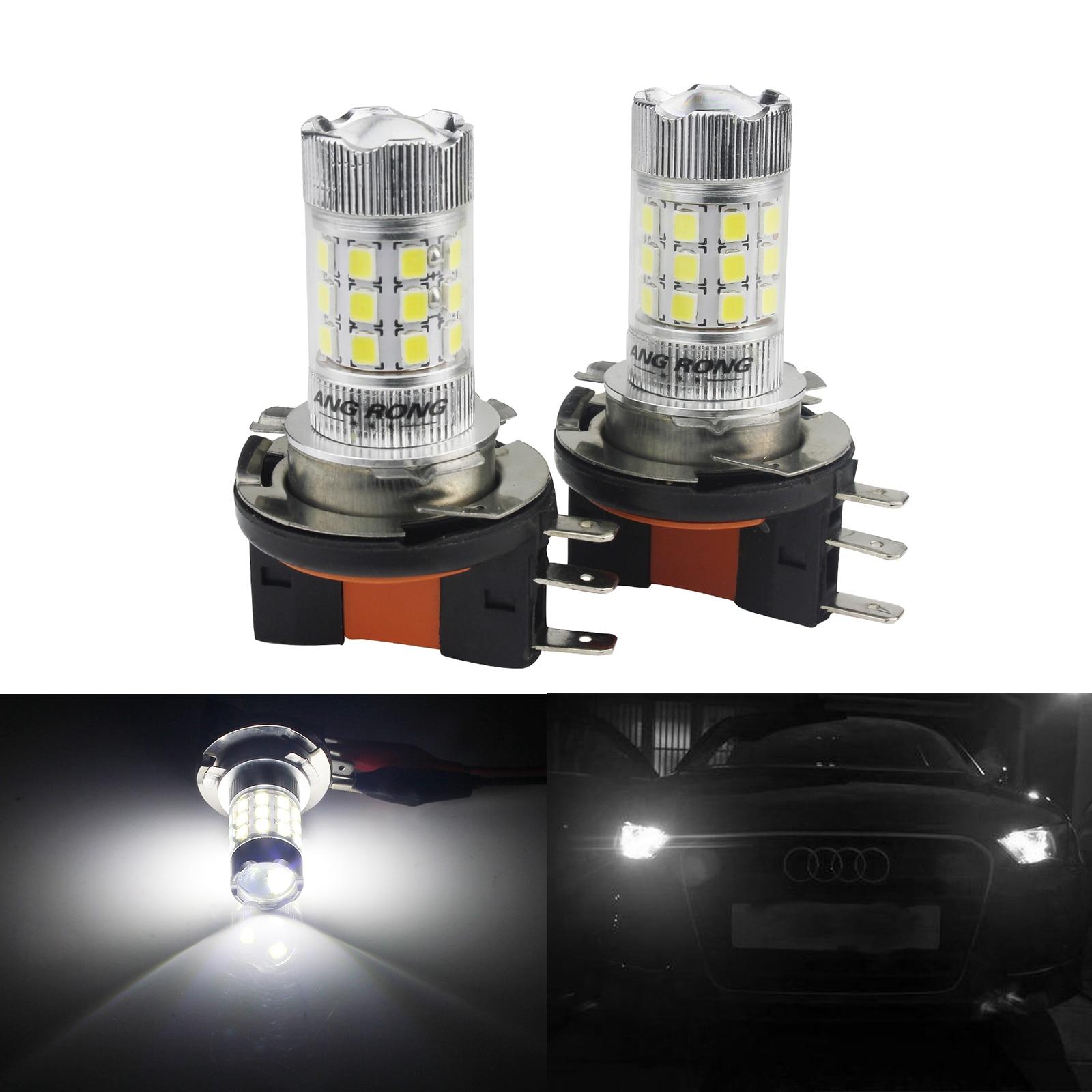 Bombilla LED ANGRONG 2x H15 para Audi A3 A5 S5 A6 S6 Q7