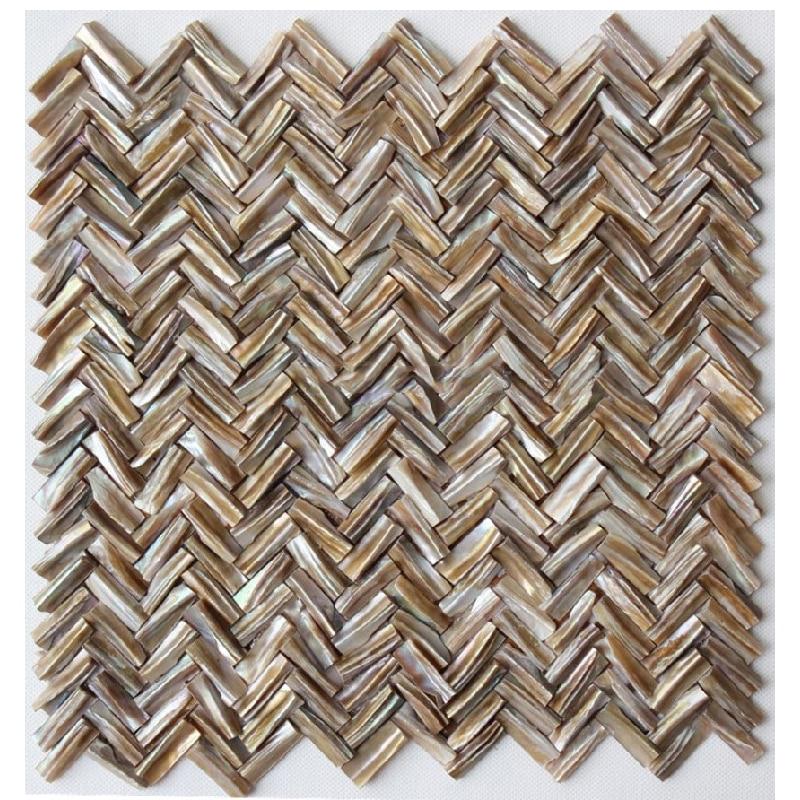 Brick Natural Shell Mosaic Tile Oyster Mother Of Pearl Kitchen Backsplash Shower Tile Bathroom Herringbone