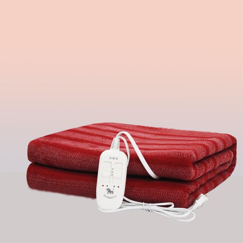 Manta eléctrica calentable de dos asientos, Manta eléctrica para camas, sublimación, calentador...