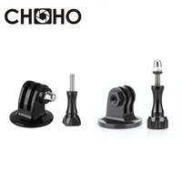 for GoPro Accessories Adapter Converter Aluminum Mount Monopod Tripod Holder CNC Screw Thumb for Go Pro Hero 8 9 Xiaomi yi SJCAM