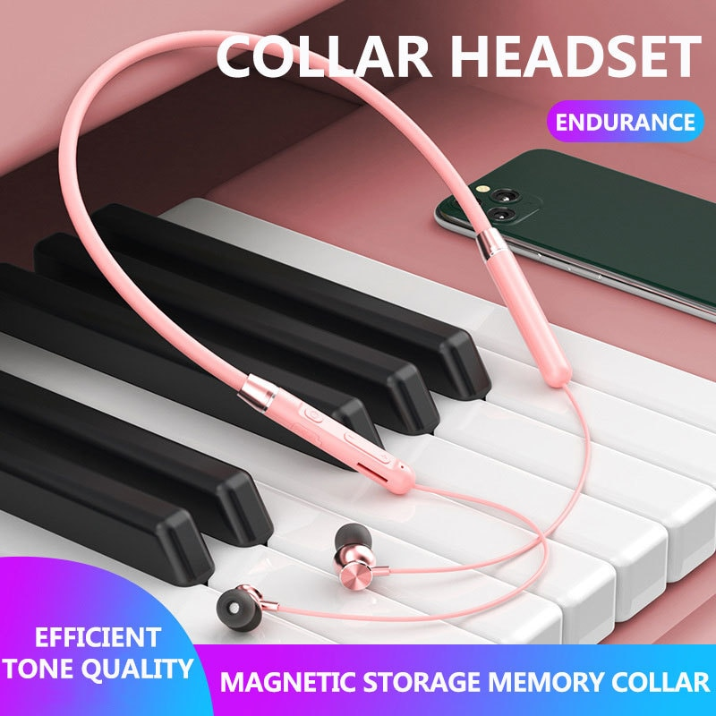 Auriculares intrauditivos inalámbricos con micrófono para IPhone, audífonos deportivos magnéticos impermeables con...