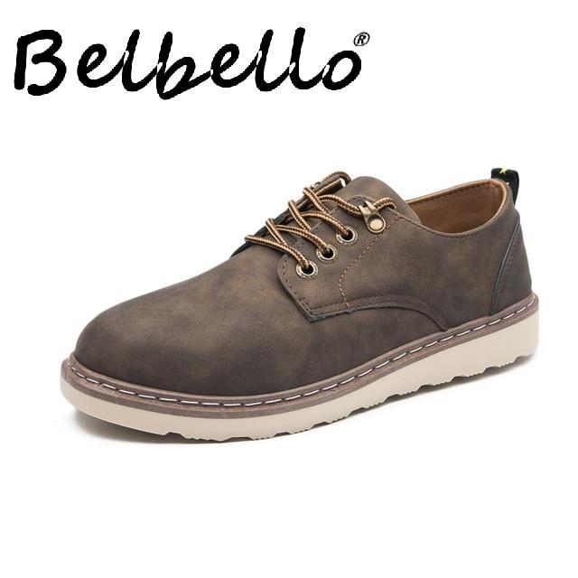أحذية رجالية غير رسمية على الطراز البريطاني ، أحذية عصرية من الدانتيل ، خريف 2019