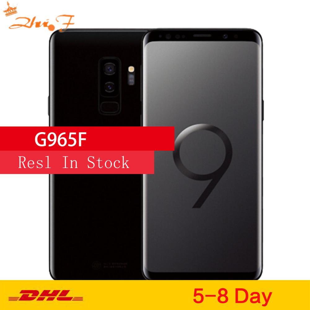 Samsung Galaxy S9Plus S9 + G965F глобальная версия оригинальный мобильный телефон Octa Core 6,2 дюйм двойной 12MP 6 ГБ оперативной памяти, 64 Гб встроенной памяти, проц...