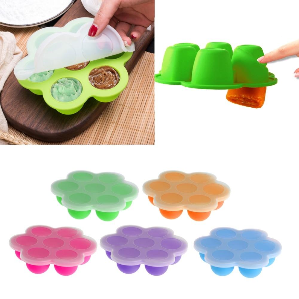 Baby Food Container Infant Fruit Breast Milk Storage Box Freezer Tray Crisper