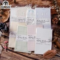 mr paper 10 designs antique medieval record letter scrapbookingcard makingjournaling project diy retro hangtag with hole cards