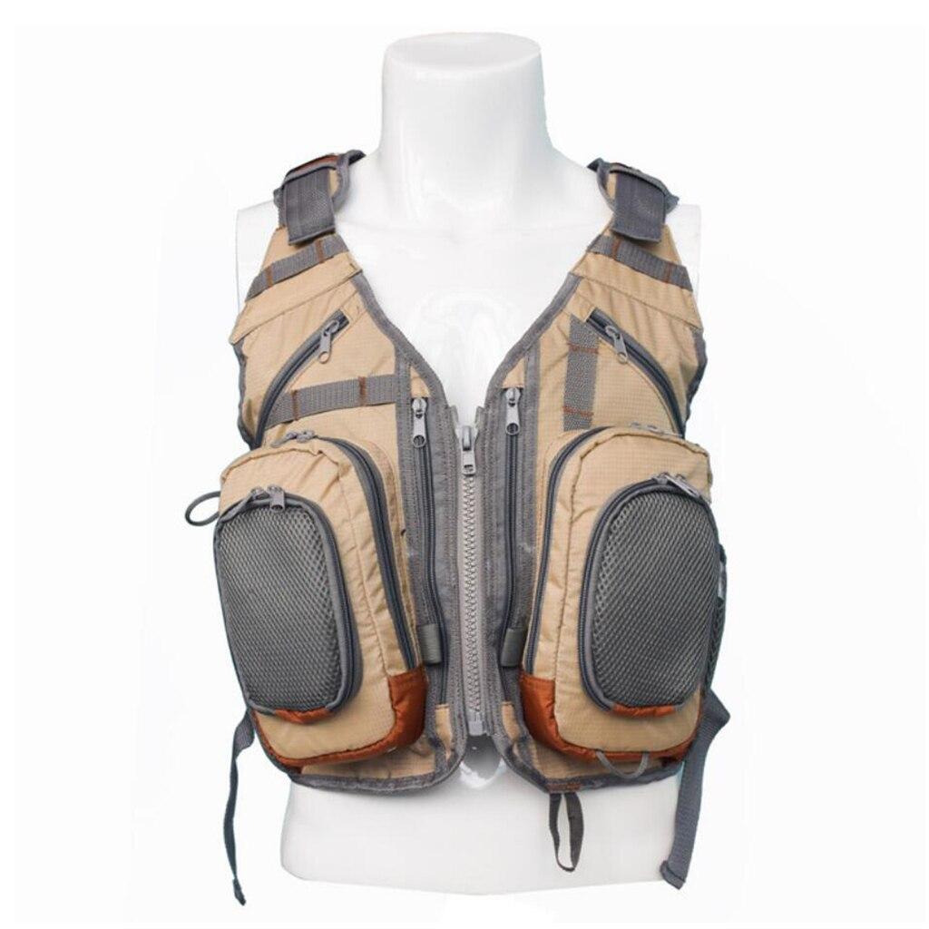 Fly Fishing Backpack Vest Combo Fishing Tackle Bag Director Mesh Vest