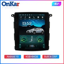 Radio ONKAR voiture Tesla pour Subaru XV forestier 2018 Android 10 tesla style navigation gps WIfi Bluetooth 5.0 4 go + 64 go 4G Port SIM