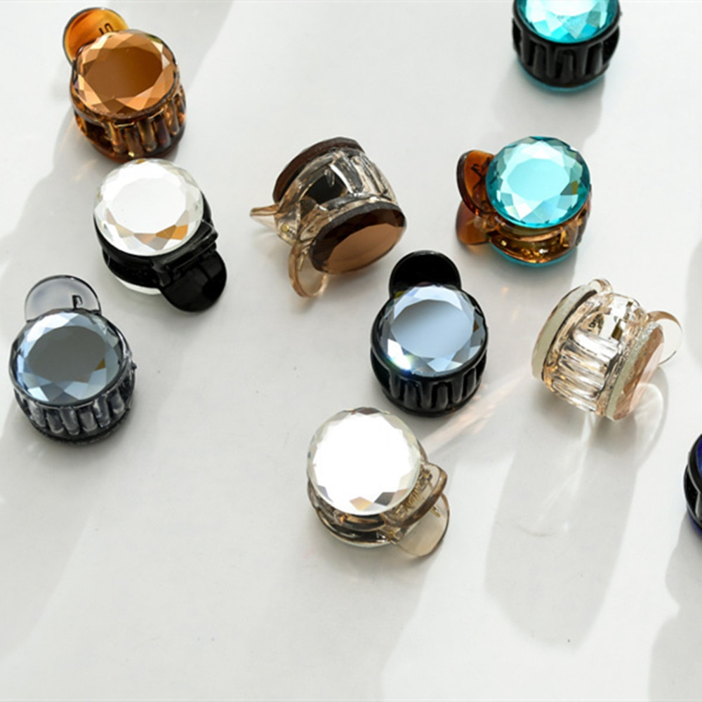 1PC mujeres Retro Vintage cristal Diamante de imitación Mini corona horquillas pinzas para el cabello horquillas Barrettes accesorios para el cabello