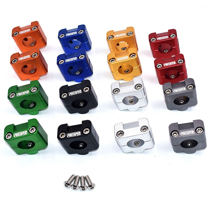 Lenker Fett Bar Steigleitungen Clamp Adapter 7/8 - 1 1/8 Universal Feste Halterungen Für Motorrad MX Enduro CRF YZF KXF