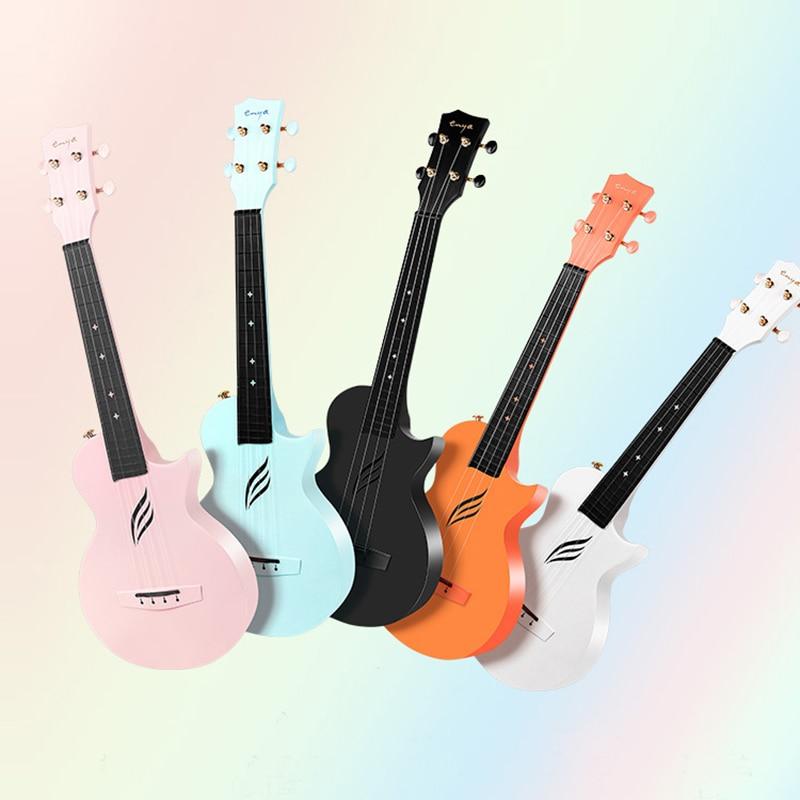 Travel Baritone Ukulele Body Iniciante Pink Small 4 String Guitar 23 Inch Classical Soprano Luxury Guitarra Instruments ZZ50YL