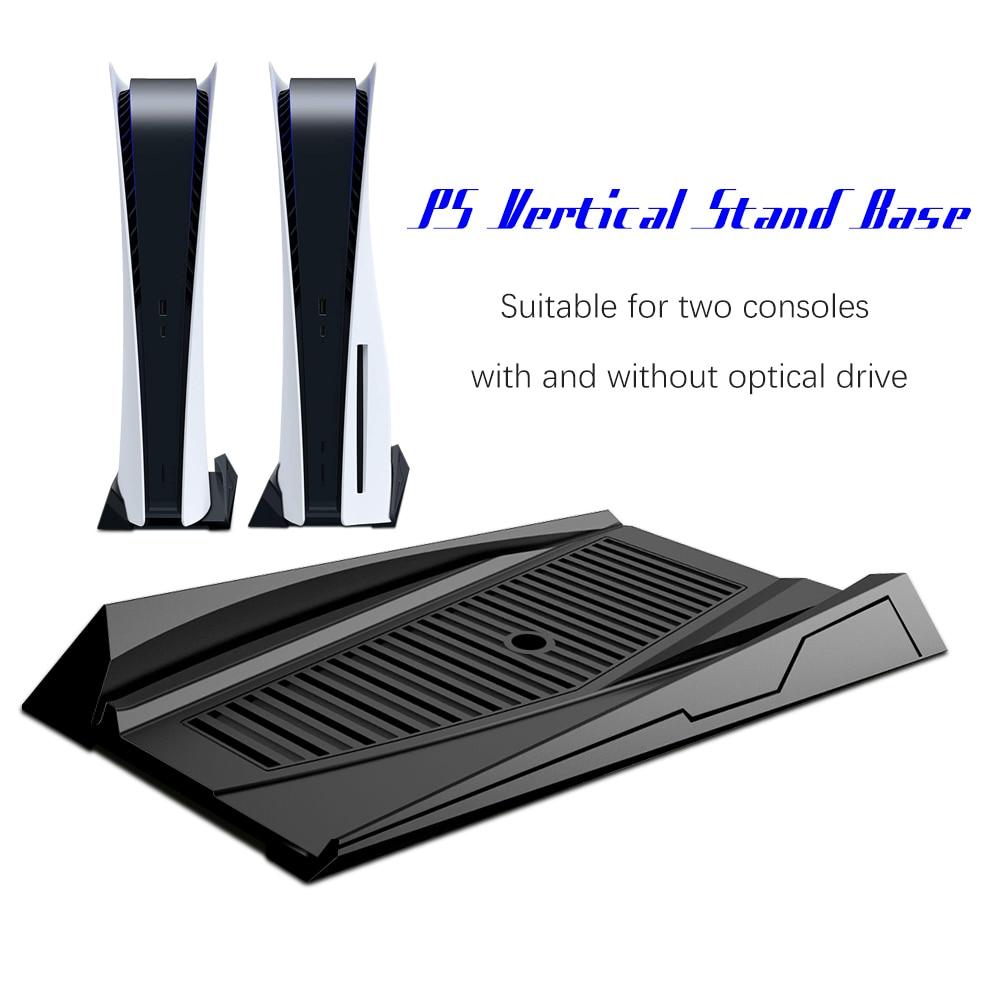 Soporte Vertical para Playstation 5, Base con ventilación de refrigeración integrada, compatible...